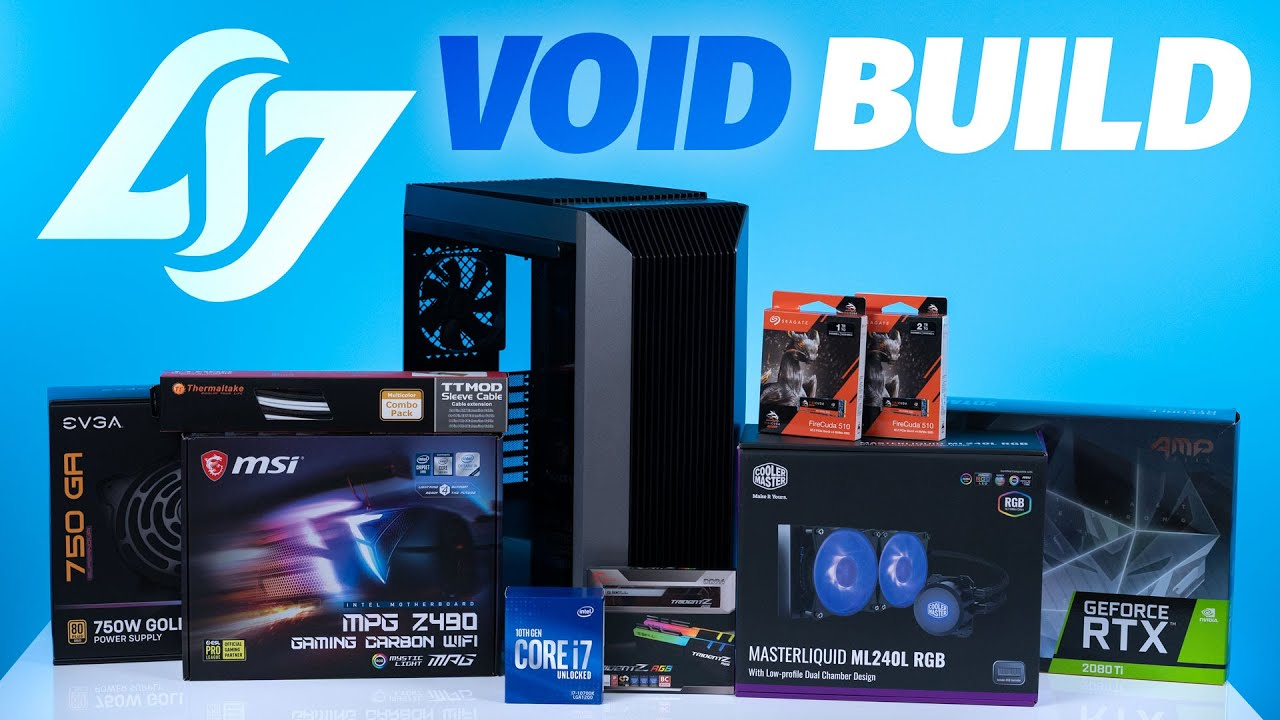 Download How To Build a PC - Giveaways + CLG VOID Custom Build $3500 Intel 10700k / 2080TI