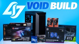 How To Build a PC - Giveaways + CLG VOID Custom Build $3500 Intel 10700k / 2080TI | Robeytech