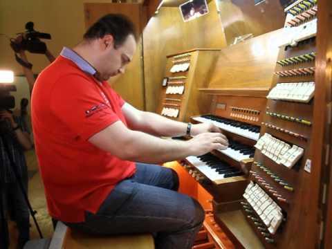 Последняя игра на органе Свердловской филармонии перед модернизацией