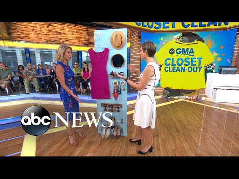 Redbook magazine's top tips to clean out your closet