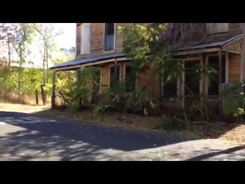 Chinese Camp Ghost Town Tuolumne County Sonora California Video