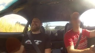 bryon s reaction in tractionless gtx 4294 3 4l mkiv supra