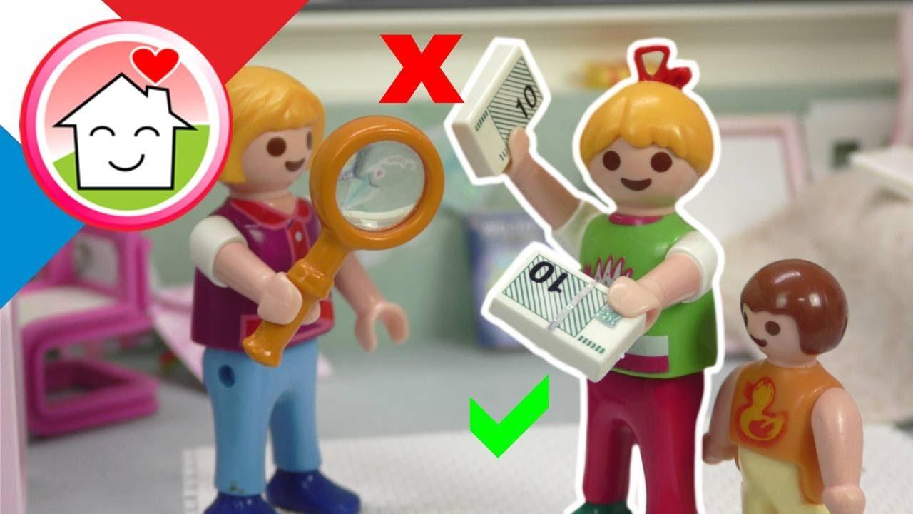Playmobil en francais Fausse ou vrai monnaie? - La famille Hauser