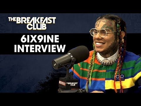 The Breakfast Club - Tekashi 6ix9ine Explains Why He Fired His Team, Recent Shooting & New Album