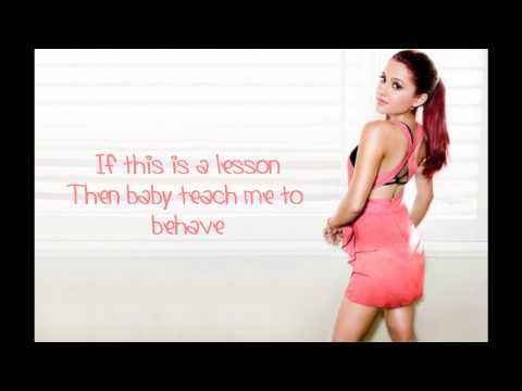 Ariana Grande -Die in Your Arms lyrics (Justin Bieber cover)