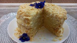 Наполеон проверенный временем рецепт вкуснейшего торта идеальный торт из слоеного теста