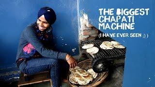 Chapati machine in the largest free