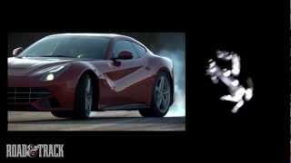 2013 Ferrari F12berlinetta: Track and Twisty Road Action