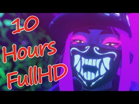[10 Hours] K/DA - POP/STARS (ft Madison Beer, (G)I-DLE, Jaira Burns) | League Of Legends Music Video