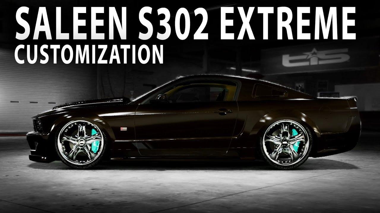 Midnight Club LA  Saleen S302 Extreme Customization and Driving