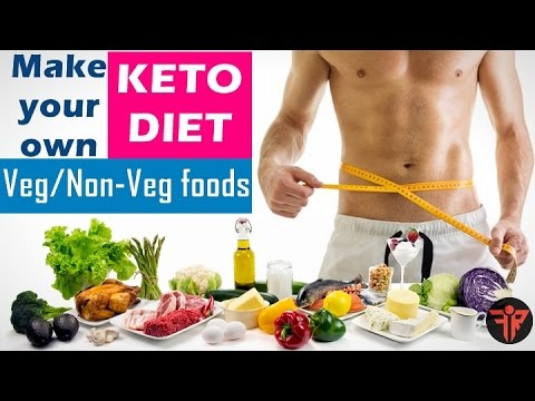 KETO DIET - Fastest weight loss diet | non-veg/Vegetarian ...
