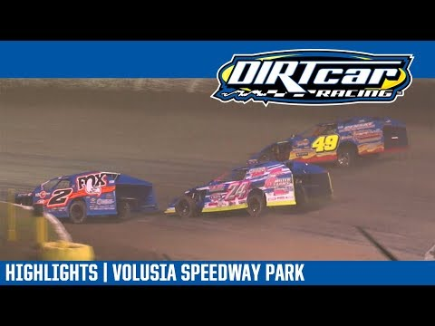 DIRTcar UMP Modifieds Volusia Speedway Park February 11, 2018 | HIGHLIGHTS