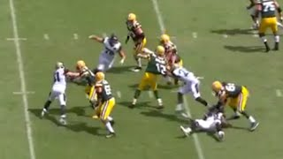 Aaron Rodgers Makes MAGIC Pass to Davanta Adams for TD Throw Under Pressure