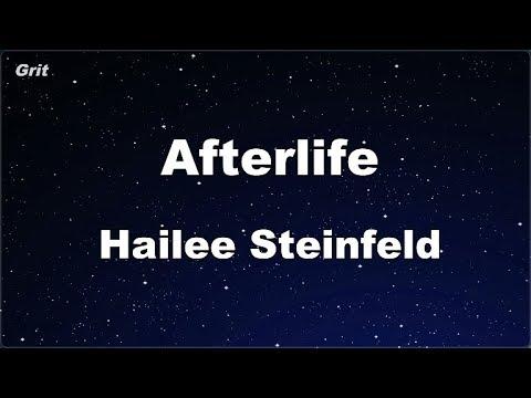 Afterlife - Hailee Steinfeld Karaoke 【No Guide Melody】 Instrumental