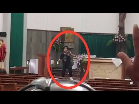 Polisi Tangkap Pelaku Penyerangan Gereja St Lidwina