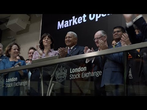 Fijian Prime Minister launches Fijian Green Bond at the London Stock Exchange