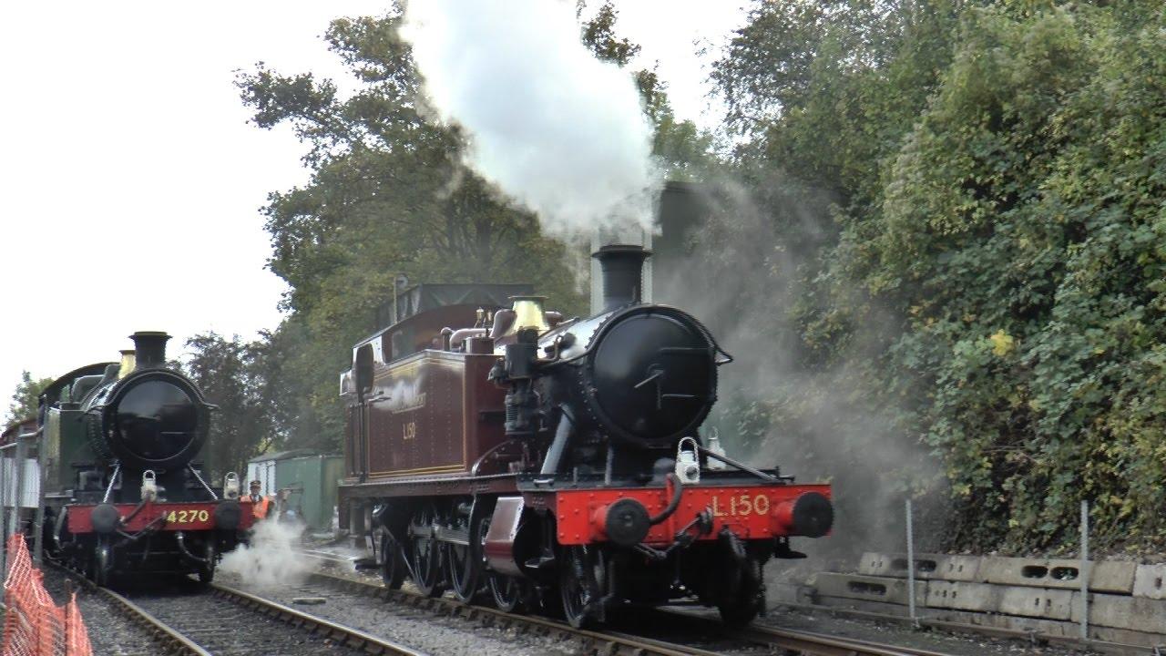 Nowoczesna architektura HD) Avon Valley Railway Steam Gala - As it Happened in October RL64