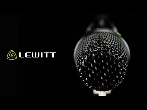 LEWITT MTP 550 DM - The handheld performance workhorse