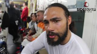 keith thurmantalks angel and danny garcia he also sends a message to north philly