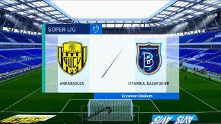 Ankaragucu vs Istanbul Basaksehir | 2020-21 Süper Lig | PES 2021