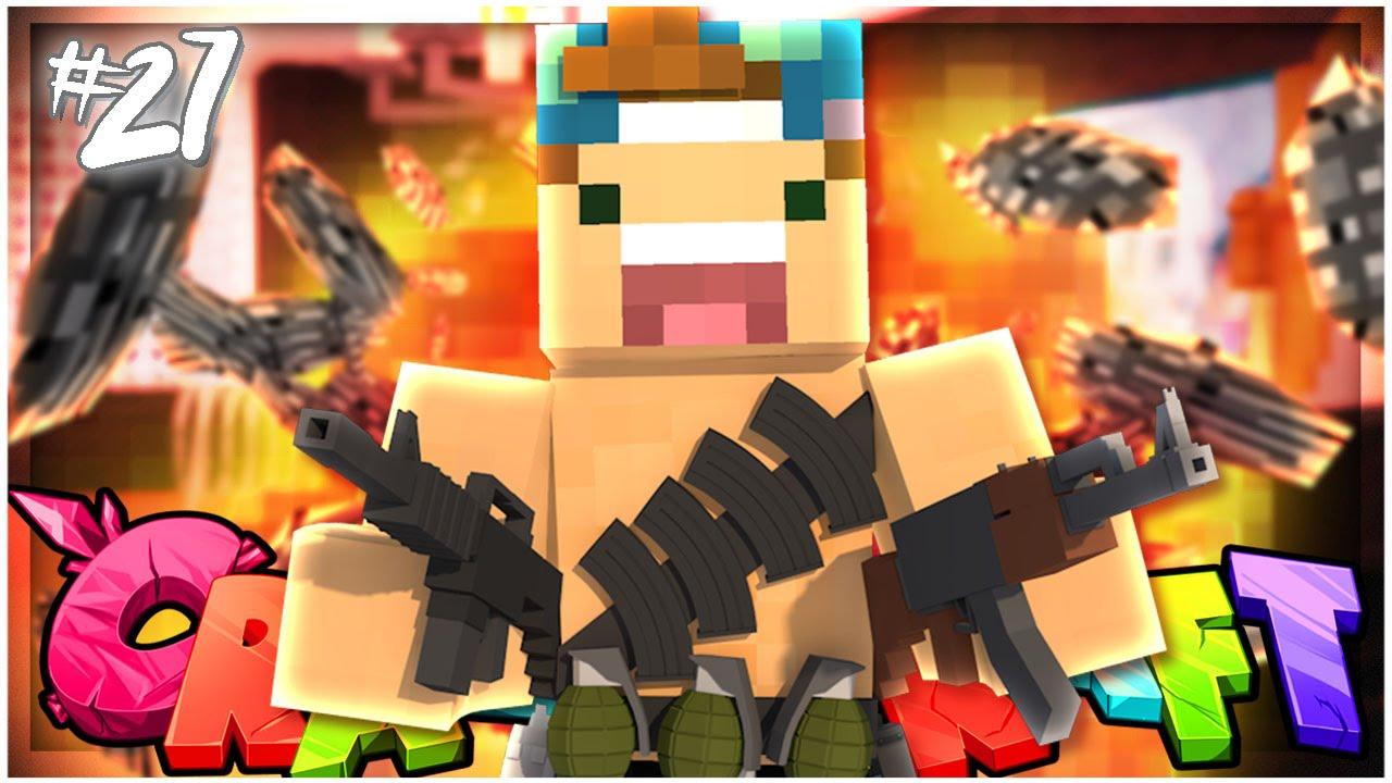 THE PRANK WAR!   EP 27   Crazy Craft 3 0 (Minecraft Youtuber