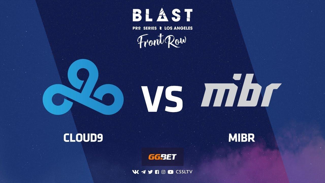 Cloud9 vs MIBR | Mirage | BLAST Pro Series Los Angeles 2019