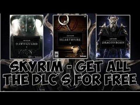how to get free dlc for skyrim xbox 360