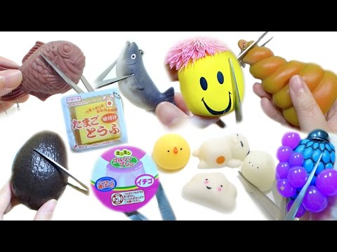 Squeeze & Cut Open Squishy Squeeze Toy Compilation | ASMR