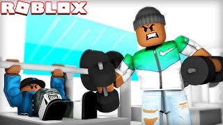 ESCAPE THE GYM IN ROBLOX