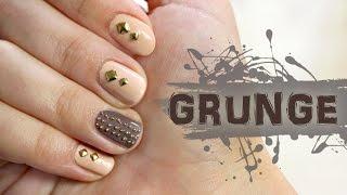 ♦ Skóra i ćwieki - paznokcie grunge na jesień ♦ Thumbnail