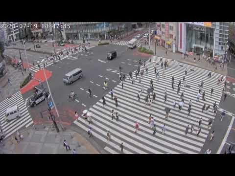 【LIVE】Tokyo Shinjuku Live Cam新宿大ガード交差点【2021】