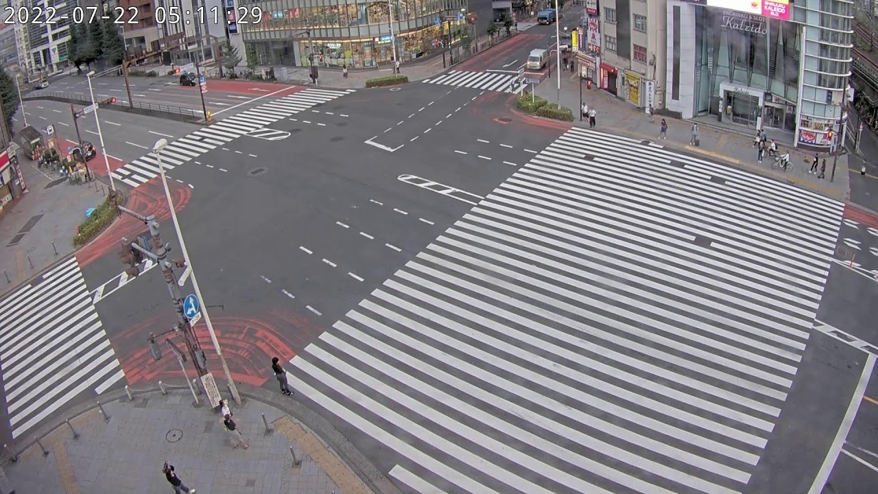Download 【LIVE】Tokyo Shinjuku Live Cam新宿大ガード交差点【2021】
