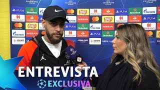 NEYMAR reclama de ser POUPADO e revela que NÃO JOGOU 100% contra Borussia - ENTREVISTA