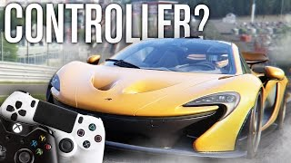 HOW IS IT WITH A CONTROLLER? | ASSETTO CORSA PS4 / XBOX ONE