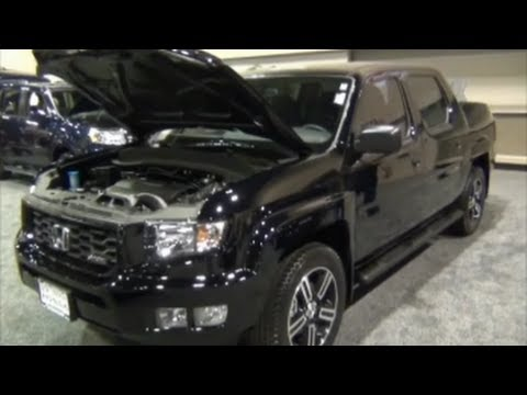 2013 honda ridgeline sport quick tour youtube. Black Bedroom Furniture Sets. Home Design Ideas