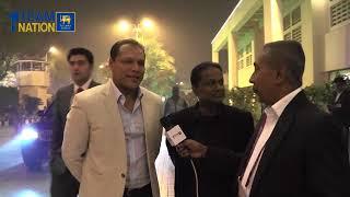 Sri Lanka Cricket team arrive in Pakistan