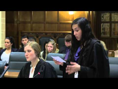Law School mooting competition finals - 2015