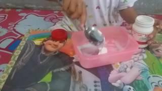 Diy tofu slime ala syifa