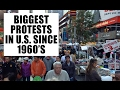 Biggest U.S. Protests Since 1960's as Government CRACKDOWN on Dissent!