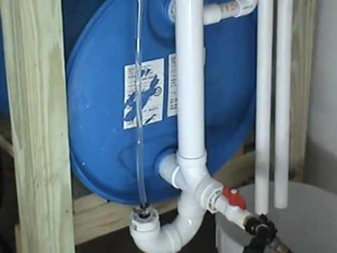 Rain water barrels part one