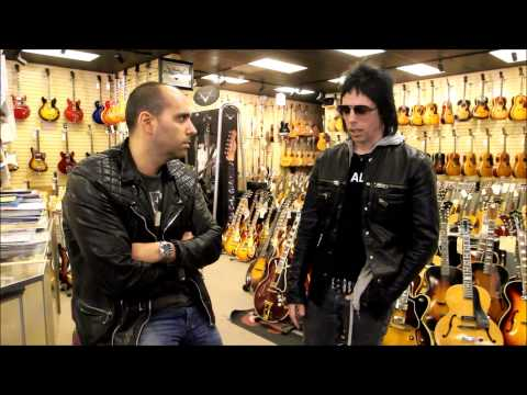 Tommy Henriksen from Alice Cooper stops by Norman's Rare Guitars