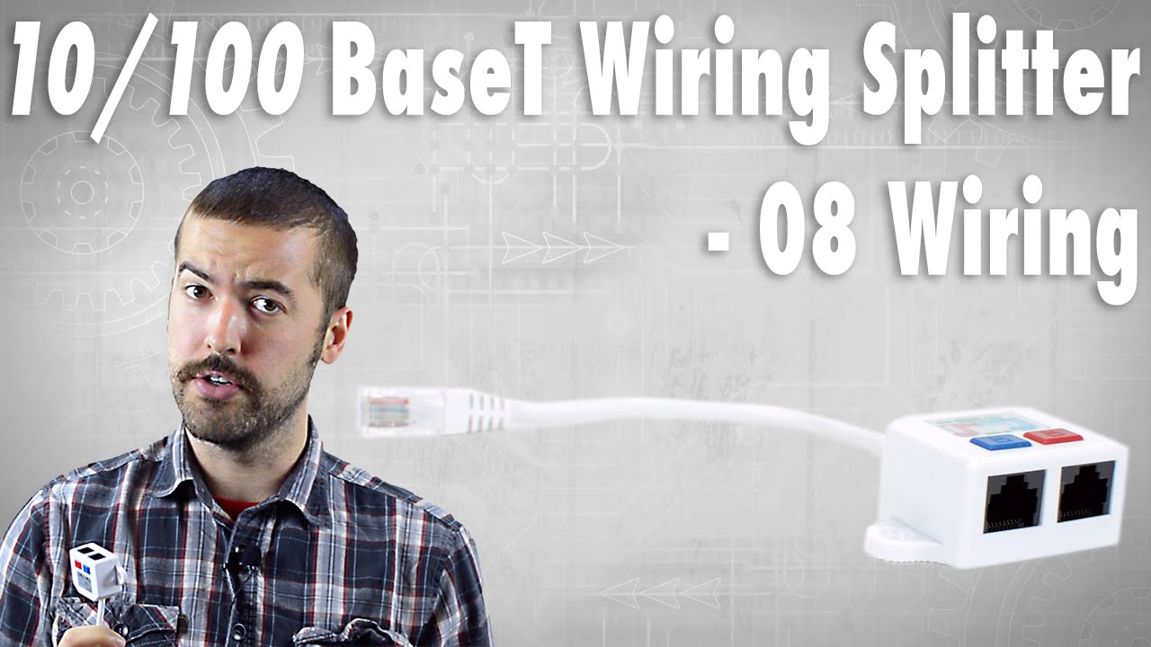 10/100 BaseT Wiring Splitter (08 Wiring) - How Does It Work? - YouTube