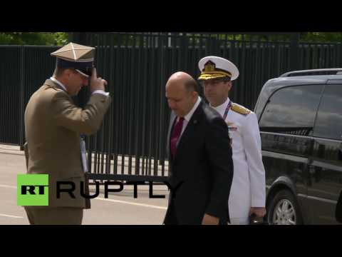 Poland: Officials arrive for Warsaw NATO Summit