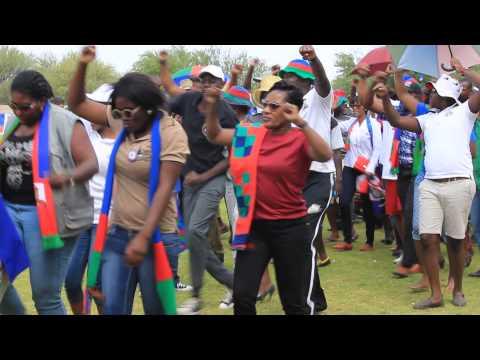 swapo star rally at Okahandja 25 October 2014