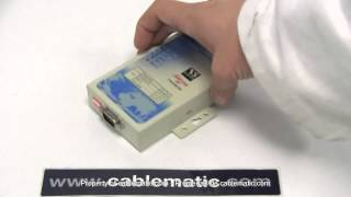VSCOM® Netcom® 111 Servidor IP RS232 de 1 puerto distribuido por CABLEMATIC ®