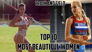 Top 10 Most Beautiful Women Of Track And FIeld ● HD ●