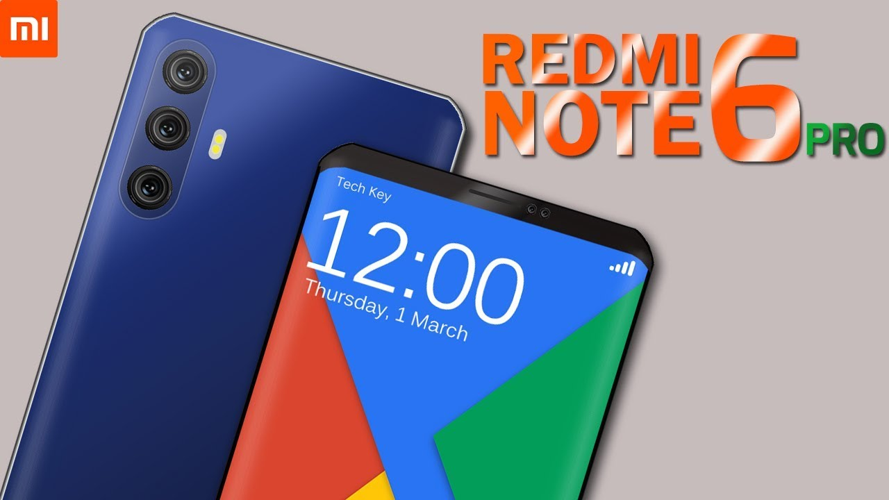 Xiaomi Redmi Note 6 Pro - 48 MP Triple Camera ac263db919