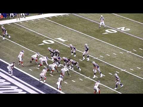 Super Bowl XLVI Brady-to-Woodhead TD