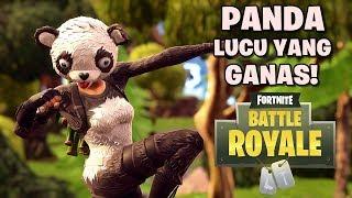 Cute but fierce Panda Skin! -Fortnite: Battle Royale (Indonesia)