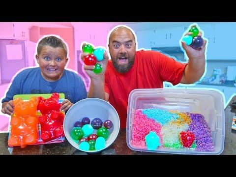 Make DIY Edible Gummy Orbeez Pokemon Pikachu Secret Revealed with Giant Gummi Bear and Shopkins!! Pics